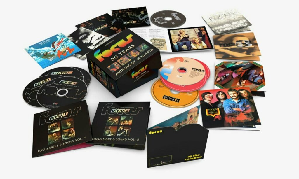 Focus 50 Years Anthology 1970-1976 boxset