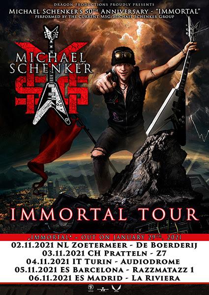 Michael Schenker Group Tour