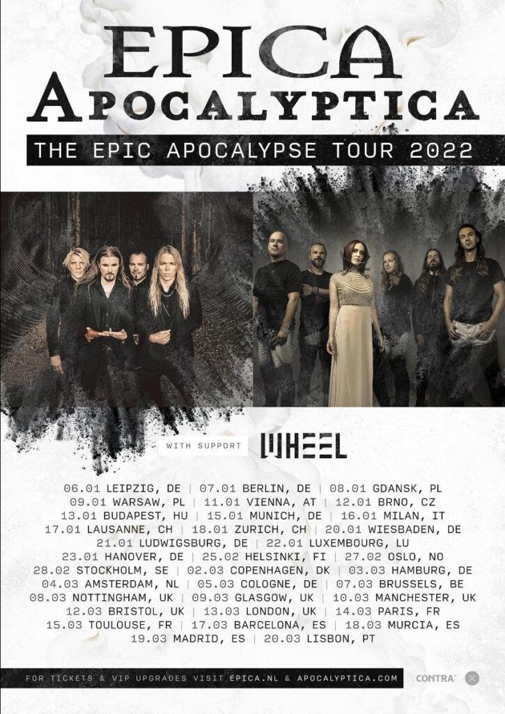 Epica Apocalyptica tournee