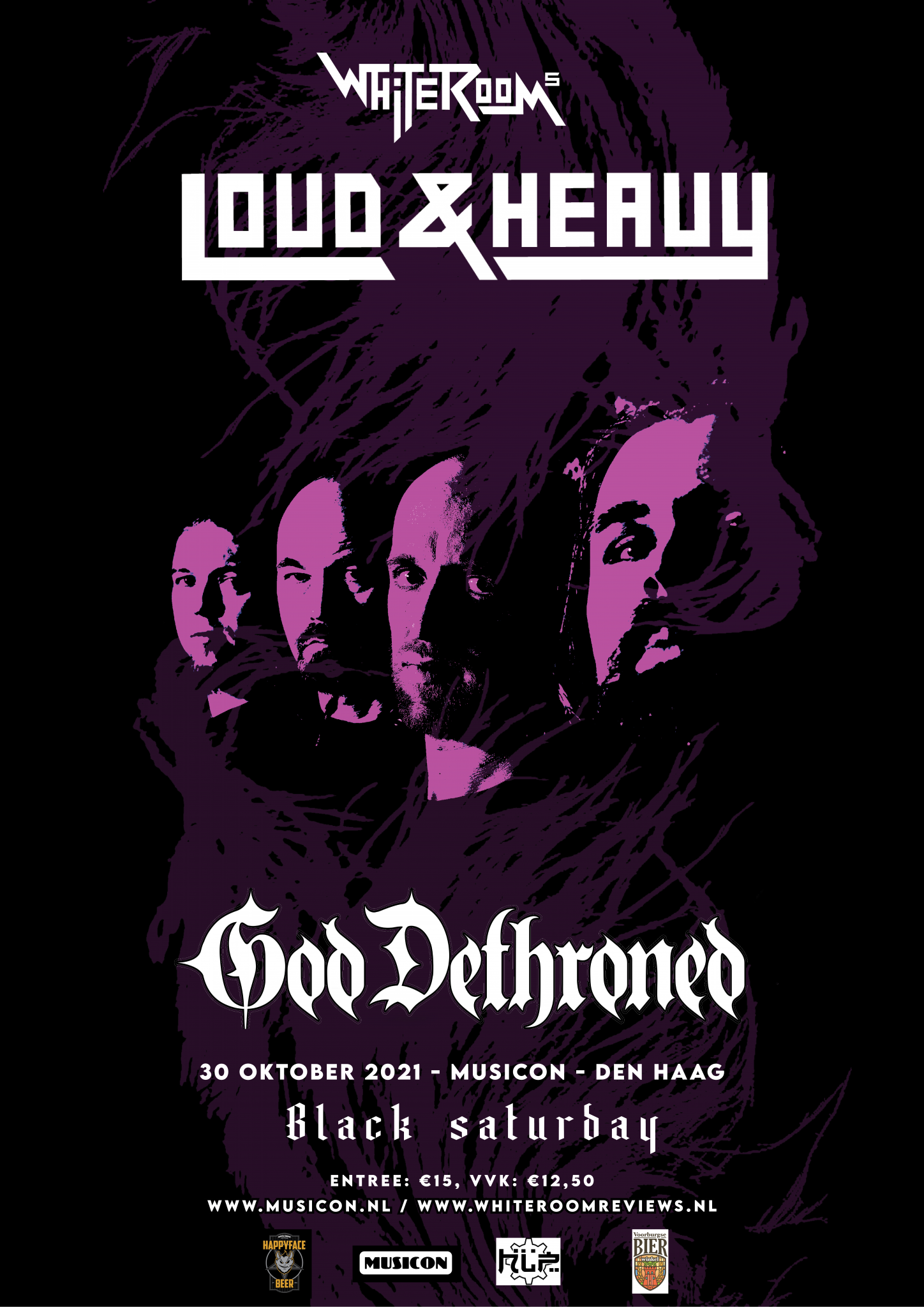 White Room's Loud & Heavy main posterss2