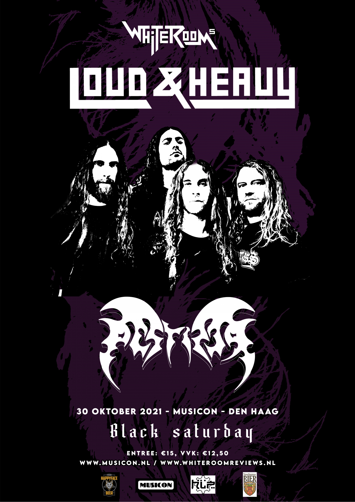 White Room's Loud & Heavy main posterss3